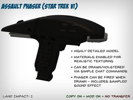 Star Trek Assault Phaser (Star Trek VI)
