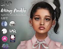 Sap ~ Whimsy Freckles - Applier (GIFT) Genus / Catwa / Lelutka / Laq / Vista / Omega / AK Deluxe