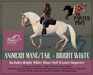 The Painted Pony~ Bright White WH Animesh Mane/Tail, for the *WH* Animesh horses