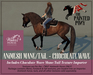 The Painted Pony~ Chocolate Wave WH Animesh Mane/Tail, for the *WH* Animesh horses