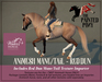 The Painted Pony~ Dun WH Animesh Mane/Tail, for the *WH* Animesh horses