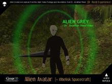 Gaagii - Alien Avatar + Obelisk Vehicle (Dr Reed Experience)