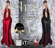 Continuum Ann Black & Red Dress SPECIAL 50% OFF