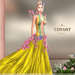 ::TD:: Blossom Gown with Appliers ~ Yellow