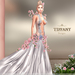 ::TD:: Blossom Gown with Appliers ~ Silver