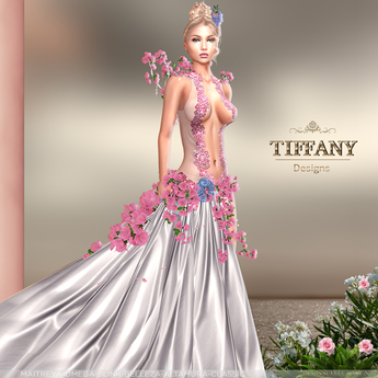 ::TD:: Blossom Gown with Appliers ~ Pink