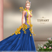 ::TD:: Blossom Gown with Appliers ~ Blue