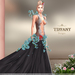 ::TD:: Blossom Gown with Appliers ~ Black