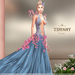::TD:: Blossom Gown with Appliers ~ Azul