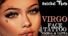 [Suicidal Thots] Virgo Face Tattoo (rez & open)