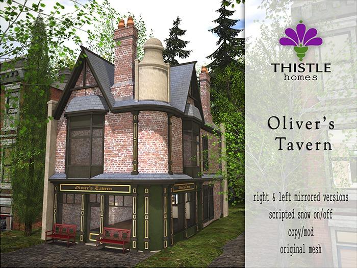 Thistle Homes - Oliver's Tavern - original mesh
