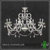 ~The Green Door~ Grace Chandelier