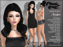 Tameless Complete Mesh Avatar Anja *BONUS skin appliers for Slink, Belleza, Maitreya, & Omega Advanced*
