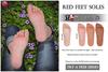 Izzie's - Red Feet Soles