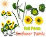 [ FULL PERM ] Sunflower Family