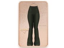 Cynful Trinity Trousers - Army Green  [Maitreya Lara, Belleza (Isis + Freya), Slink (HG)