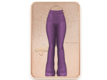 Cynful Trinity Trousers - Purple  [Maitreya Lara, Belleza (Isis + Freya), Slink (HG)
