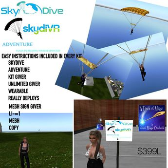 Skydiving kit giver