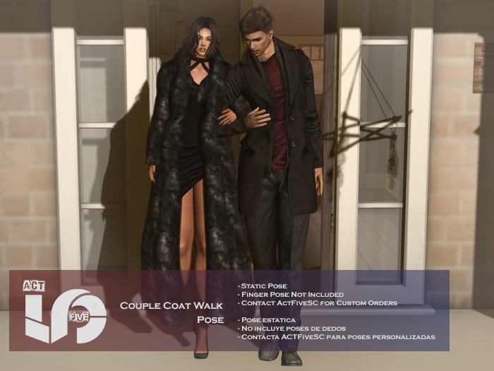 ACT5-90-Couple Coat Walk Pose BOXED