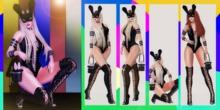 4Season::.Bad Bunny  - Pose Collection