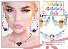 Stay Chic - Moonshine set SILVER