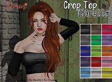 [Lemur]-Crop Top Mirella-HUD 15 Colors