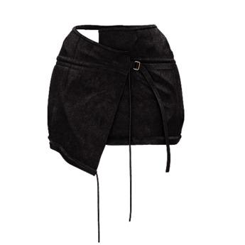 .:ENVIEE:. Heathen Mini Skirt {Blaque}