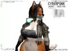 [Nerox][Cyberpunk jacket][Thicc Fox]