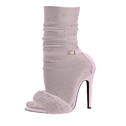 .:ENVIEE:. Goldie's Fur Heels {Ghost}