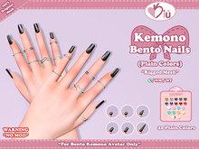 *>Kiu<* - Kemono Bento Nails_Plain Colors