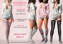 Blueberry - Jeannette Set - Mega Pack