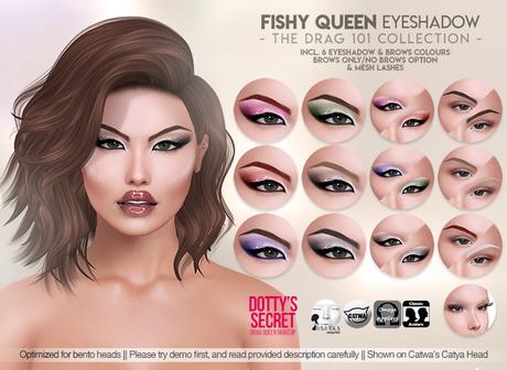 Dotty's Secret - Drag 101 - Eyeshadow - Fishy Queen
