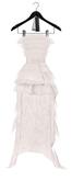 Rowne.Motler Feather Dress - White