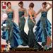 ALB KRISTEN mermaid gown 1 w heels & earrings - AnaLee Balut