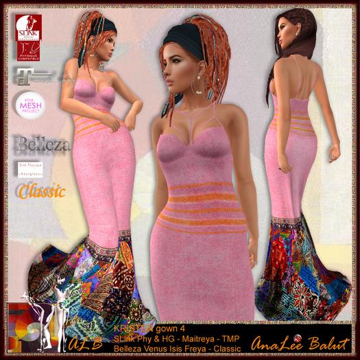ALB KRISTEN mermaid gown 4 by AnaLee Balut