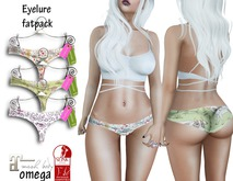 Eyelure Kitty Fish Panties w/Appliers Maitreya,SLINK, OMEGA