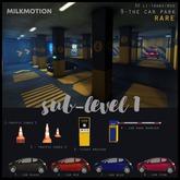 (Milk Motion) small car - black