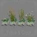 *pm* Wildflower Wabbits Planters: Yellow & Green