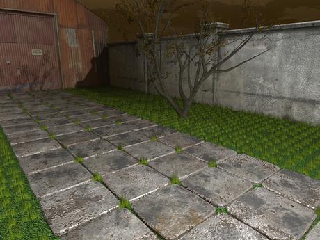 Stone Path Mesh - HD textures - 1 prim each