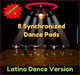8 Synchronized  Dance Pads Latino Dances v1.2 Volume II