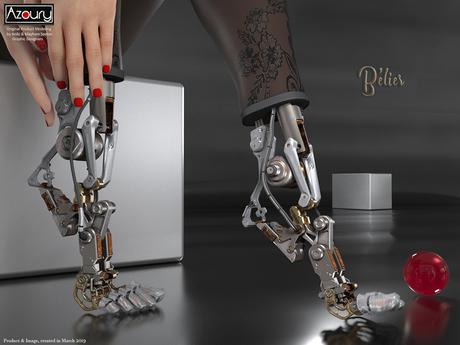AZOURY - Belier Robotic Feet