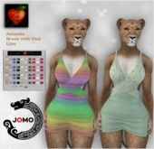 Apple Heart Inc. Jomo Amanda Dress w. Hud Lion