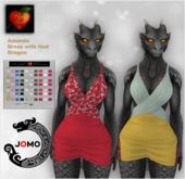 Apple Heart Inc. Jomo Amanda Dress w. Hud Dragon