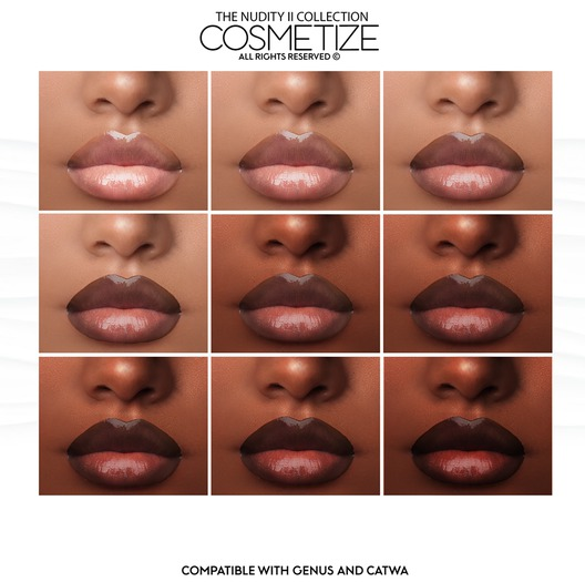 Cosmetize / The Nudity II Collection