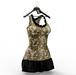 *** Harmonia Gold Sequins Larielle Dress - Maitreya Slink Freya