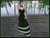 =<SB>= wearable Demo gift Raven gown