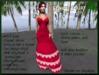 =<SB>=Bold Color Raven Gown