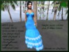 =<SB>=Bright color Raven Gown