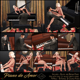 Lush Poses - Piano de Amor - Pose Pack  & Piano
