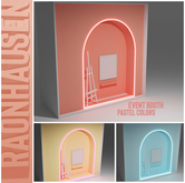 RAONHAUSEN - Event Booth [PASTELS]